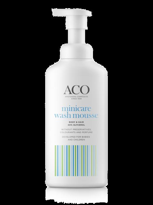 minicare mousse wash