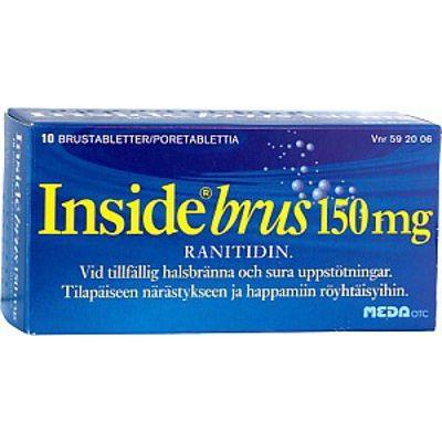 INSIDE BRUS 150 mg poretabl 10 kpl