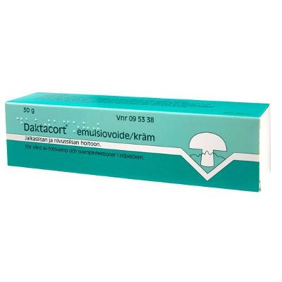 DAKTACORT 20/10 mg/g emuls voide 30 g