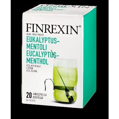 FINREXIN jauhe (eukalyptus-mentoli)10 kpl