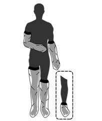 Kipsinsuoja Limbo 1/1-pit käsivarteen M70 1 kpl