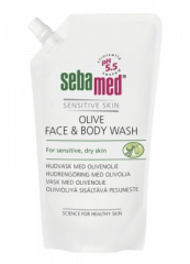 SEBAMED OLIVE FACE&BODY WASH PESUN. TÄYT 1000 ML