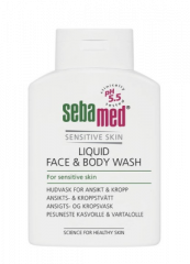 SEBAMED LIQUID FACE&BODY WASH PESUNESTE  200 ML