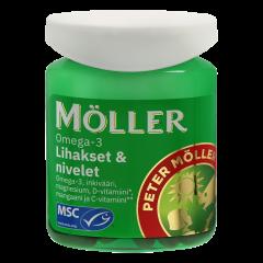 Möller Omega-3 Lihakset & nivelet  60 kaps