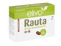 ELIVO RAUTA 25MG B+C  HIVENAINE-VITAMIINIVALMISTE X60 TABL