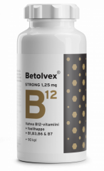 Betolvex Strong 1,25 mg B12-vitamiini 90 kaps